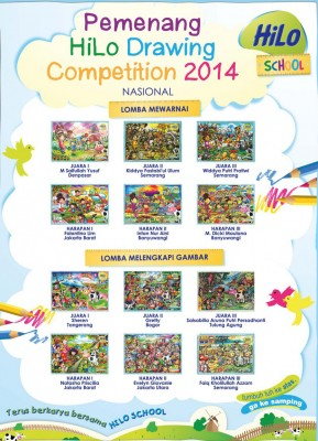 Pemenang HiLo School Drawing Competition 2014 tingkat Nasional