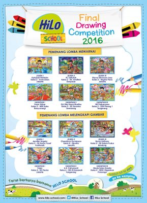Pemenang Tingkat Nasional HiLo School Drawing Competition 2016