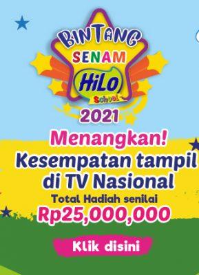 Bintang Senam HiLo School 2021